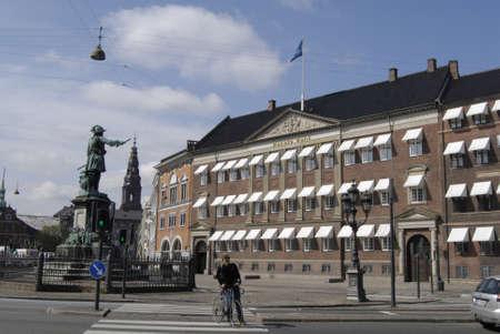 apri: COPENHAGENDENMARK _ Danske banks head office building at holmens kanal 20 Apri 2012