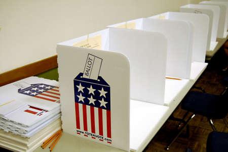 LEWISTON/IDAHO STATE/USA _ Idaho Votes, Idado state primary  electionbs for local local state politics ,polling station Idaho Votes today on 15 May 2012       Editoriali