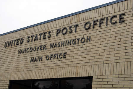 postal office: VANCOURVERWASHINGTON STATE USA _    United States postal office 29 May 2012   Editorial