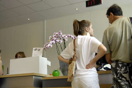 cashing: COPENHAGENDENMARK _ Consumers cashing money  various banks Sydbanm,Nordea Bank and Jyske bank 5 July 2012