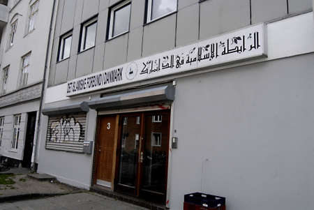 det: COPENHAGENDENMARK _Islamic federations office in Denmark 16 July 2012