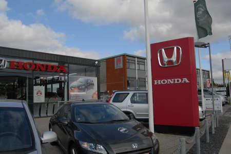 kastrup: KASTRUPCOPENHAGENDENMARK _   Honda car dealer in Kastrup Copenhagen 21 August 2012
