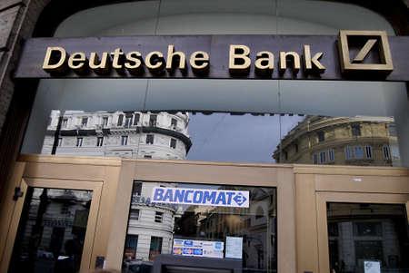 ROME / ITALY _ Geerman Deutsche bank in rome 1 Sept. 2012        Editoriali