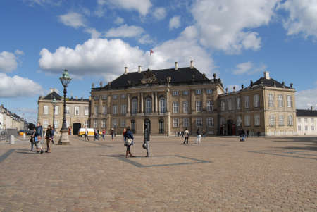prince of denmark: COPENHAGENDENMARK _ Crown prince Frederik and Crown princess Mary palace at amalienborg    13 Sept. 2012
