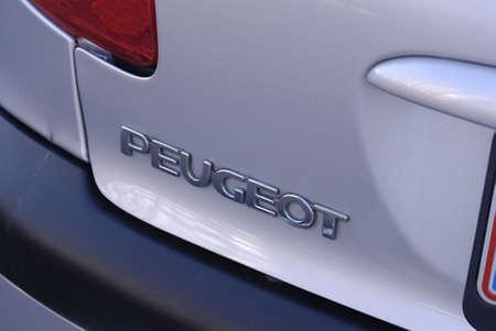 ediroial: Copenhagen  Denmark.   French Peugeot with danish humber plate 30 Oct. 2012