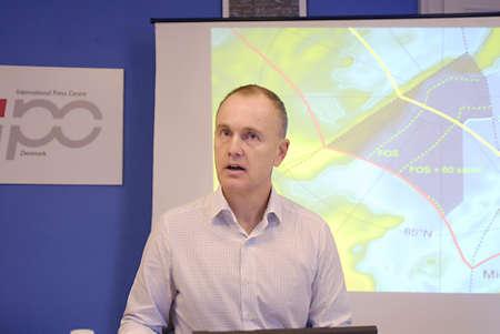 ediroial: Copenhagen  Danimarca. Martin Breum autore danese e giornalista danese di radiodiffusione nazionale Danmark Editoriali
