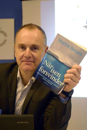 ediroial: Copenhagen  Denmark. Martin Breum danish author and journalist with danish national broadcasting  Danmark