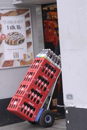 ediroial: Copenhagen  Danimarca. Coca cola consegna 1 novembre 2012 Editoriali