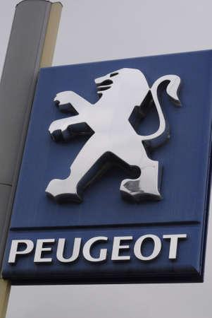 ediroial: Copenhagen  Danimarca. Francese Peugeot auto auto e auto rivenditore 3 novembre 2012