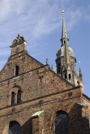ediroial: Copenhagen  Danimarca. Helligaarndkirke o Helligaands chiesa fede in Danimarca luthern fede � ufficiale della chiesa, stato e luthern chiesa Stroeget 6 novembre 2012