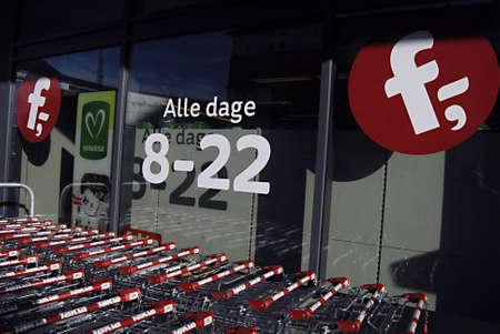 fakta: Copenhagen  Denmark.  Fakta super market sells organic food items and open from 8 -22 pm  all days 11 Nov. 2012