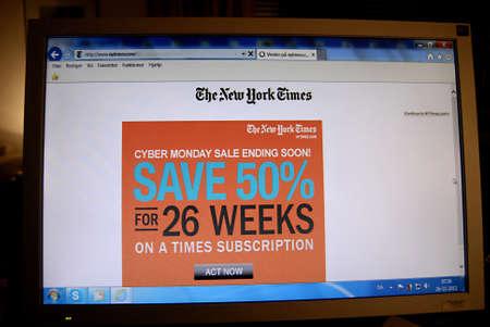 new york time: Copenhague  Denmark.in EE.UU. Comerciales en New York Times, diario Ciber Lunes salemending pronto un descuento del 0% durante 26 semanas en un momento RRI 26 de noviembre 2012