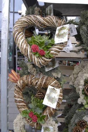 ediroial: Copenhagen  Denmark.   Christmas planet decorations on sale at fotx valose 1 Dec.2012