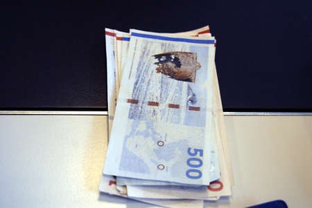 ediroial: Copenhagen  Denmark. Danish economy on crisis danish money notes 6 Dec. 2012