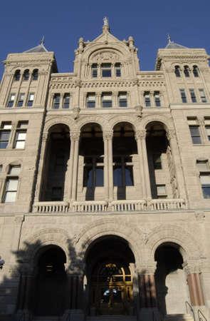SALT LAKE CITY /UTAH E /USA _city and county court house old building at Washington Square park 10 June 2012     Stock Photo - 16869529