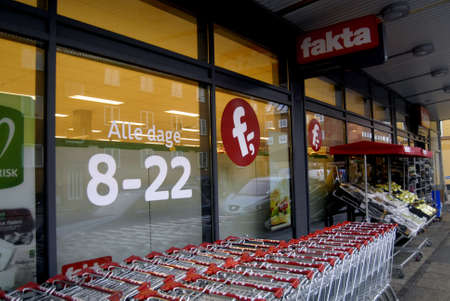 fakta: KASTRUPCOPENHAGENDENMARK _ Fakta food market opens on sunday and all days from 8 -am til 10 pm or 8-22 evrening every dag also o sunday 24 Feb 2013