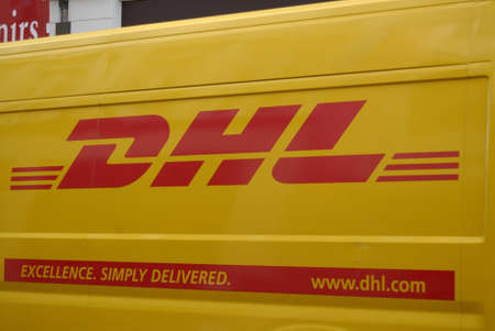Copenhagen  Denmark.   DHL excellance simply delivered transpot 7 March 2012