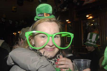 mach: Copenhagen  Denmark.  Irish living in Denmark celebrates St.Patrick day Happy st.patrick day todan on 17 Mach 2013