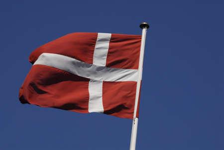 kastrup: KASTRUP COPENHAGEN DENMARK _  Flags from Euroepan union Denamrk Sweden and Norway flying in Kastrup tdoay 15 May 2013