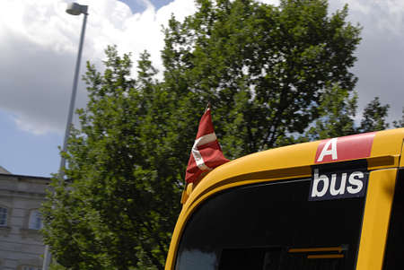 prince of denmark: Copenhagen  Denmark. _Dannebrogs fly over danish paarliment and all official building and also on public buses becuse of the Prince Henrik of Denmark has birthday on 11 June 2013