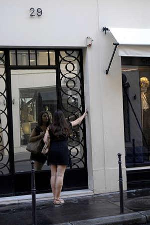 PARIS/FRANCE  _Chanel headquarters Paris  25 July 2013      版權商用圖片 - 21100249