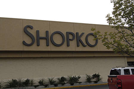 polictics: LEWISTONIDAHO STATE USA _Consumers at fall sale Shopko store some item are 40%  on sale 22 sept. 2013