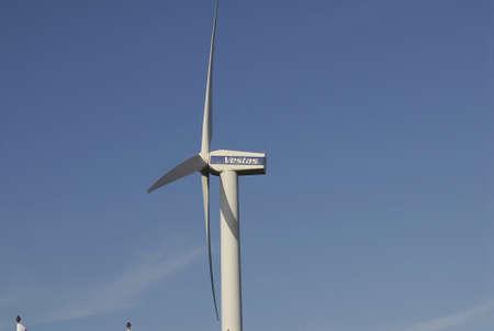 vestas: Copenhagen Denmark-  08  November  2013   _Vestas turbine