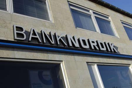 kastrup: Kastrup Denmark-  13  November  2013   _Taarby branch of banknordik