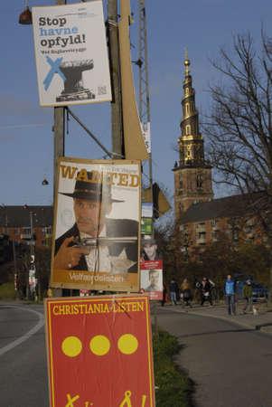 councils: Copenhagen  Danimarca-16 novembre 2013 _In questa elezione ci sono liste elettorali pi� locali dovuti per le popolazioni locali non sono molto d'accordo con le parti stabilire potical danesi voteranno i nuovi consigli comunali e contee candidati consiglio comunale e la regione counti Editoriali