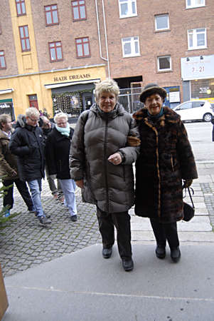kastrup: Kastrup Denmark-  24 December  2013 _danes are attending christmas eve church service in kastrup church on kastruplundgade today church have three church service
