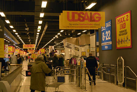 billions: COPENHAGEN Denmark-  8 January 2014  _ A.P.Moller-Maersk (A.P.M�ller -Ma�rsk ) sells three  discount food supermarket Bilka and Netto and Fotex to other danish Salling Concern for over billion uSA dollars and billions in danish kroner regarding to nation Editorial