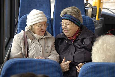 COPENHAGEN DENMARK-  04 February  2014   _Danish senior or retired females travelers senior transport card netkort transport ticket is for three month and les then one hundrad dollars