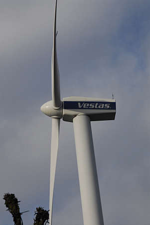 vestas: COPENHAGEN DENMARK-  13 February  2014  _Vestas wind turbine giv�s power to Bella Center