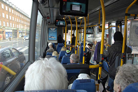 eldlery: COPENHAGEN DENMARK- Danish seniors retired peoples are not allow to travel from 7-9 am morning during week and weekend are allow to travel and seniors and rretired bus train and metro for all zone or call netcard  is less them dollar for 3 months and thr