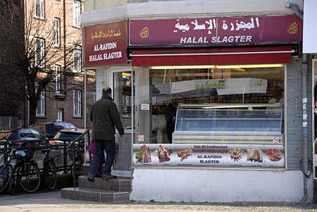 slaughtering: COPENHAGEN  Danimarca-islamico macellaio halal apre domenica il Holyday 30 marzo 2014 Editoriali