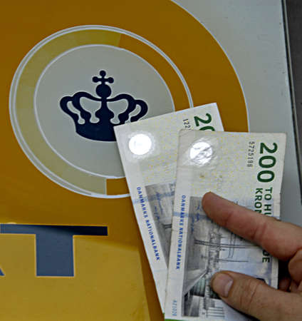 skat: KASTRUP COPENHAGEN DENMARK-  Danish ministry for TAX and revune (skat) will return some skat and tax money back to nation due to report in media       04 April 2014