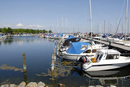 kastrup: KASTRUP COPENHAGEN DENMARK-  Boats at Kastrup Marina on summer july  day        06 July   2014   Editorial