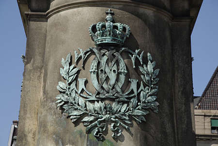 carl: MALMÖMALMOSWEDEN- Statue of king Karl X Gustav 1896  created by  swedish John Brojeson         15 July  2014