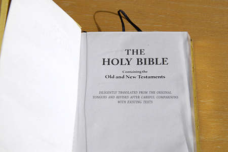 eligion: KASTRUP COPENHAGEN DENMARK-  Holy bible king james version        20 July   2014   Editorial