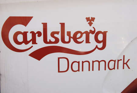 carlsberg: COPENHAGEN DENMARK-Russia hit back sanctions to European Union and United States and Denmark been hit by russian sanctions danish beer Carlsberg abd Arla food products          11 Auguest  2014   Editorial
