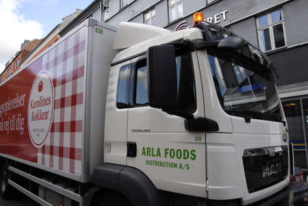 food distribution: COPENHAGEN DENMARK-   Alra food distribution as lorry        21 Auguest  2014
