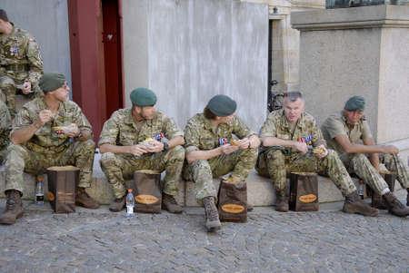 cel: COPENHAGEN  DANIMARCA nazione danese celebra Segnala questo giorno non � molto vecchia tradizione ma fdanish parlamento ha deciso di onorare soldato nation'sbrave coloro che partecipano in pace e aiutare le nazioni e vaterans danesi per� truppe danesi si stanno preparando per cel