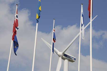 vestas: COPENHAGEN DENMARK-  Vestas turbine power and energy bella center         07 sept.  2014   Editorial