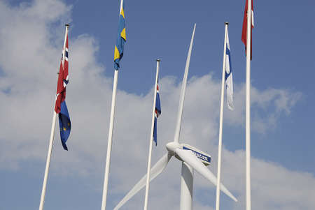 vestas: COPENHAGEN DENMARK-  Vestas turbine power and energy bella center         07 sept.  2014   Editorial