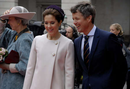 COPENHAGENDENMARK_Danish royal family Queen Margrethe II prince henrik and Crown prince Frederik crown princess Mary pince Joachim and pincess Marie and pincess Benedikte arrive at christiansborg for official opening of the danish parliament folketinget