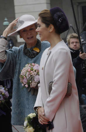 prince of denmark: COPENHAGENDENMARK_Danish royal family Queen Margrethe II prince henrik and Crown prince Frederik crown princess Mary pince Joachim and pincess Marie and pincess Benedikte arrive at christiansborg for official opening of the danish parliament folketinget