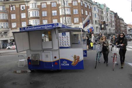 fas: COPENHAGENDENMARK Tican fas food Copenhagenwagon triangle osterbrogade            12 October  2014