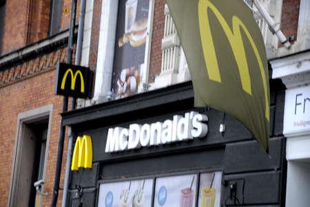 mcdonalds: COPENHAGENDENMARK_  Mcdonalds fast food restaurat           22 October  2014 Editorial