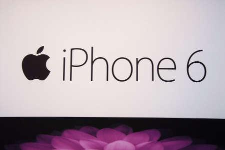 teck: COPENHAGENDENMARK_ Apple iphone6 smartphone display for sale            03 November  2014