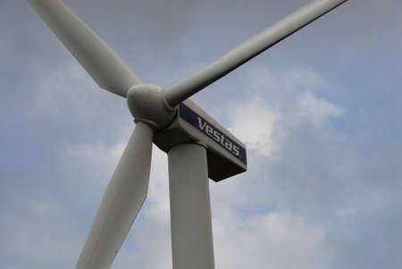 vestas: COPENHAGENDENMARK_ Vestas turbine cobver bella center engery and power           07 November  2014